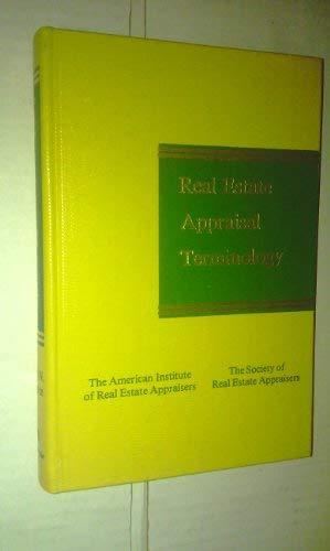 9780884105503: Real Estate Appraisal Terminology