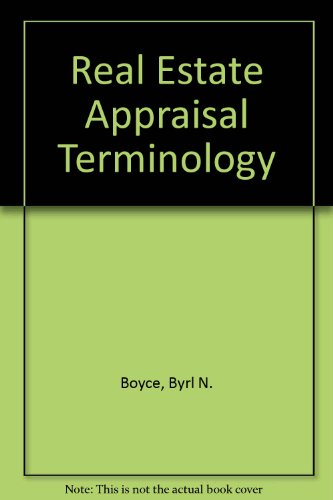 9780884105978: Real Estate Appraisal Terminology