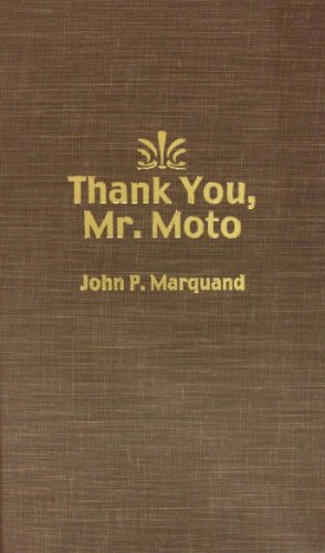 9780884111429: Thank You, Mr. Moto