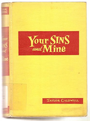 9780884111689: Your Sins and Mine