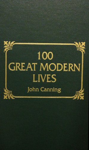 9780884112860: 100 Great Modern Lives