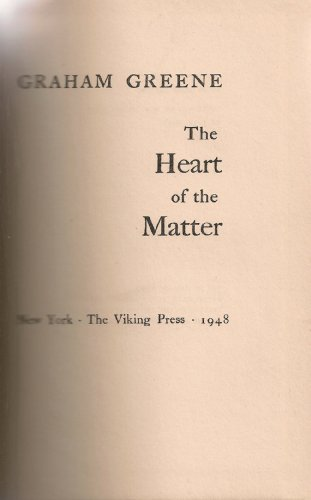 9780884116547: The Heart of the Matter