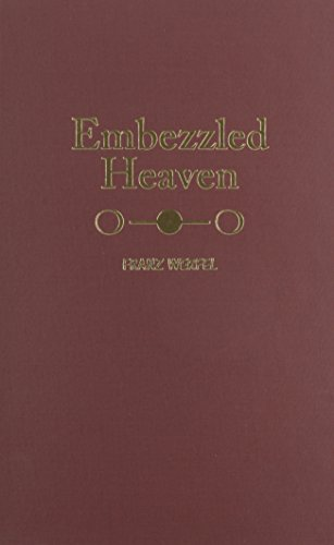 Embezzled Heaven (9780884117100) by Franz Werfel