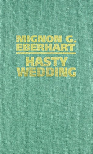 9780884117612: Hasty Wedding