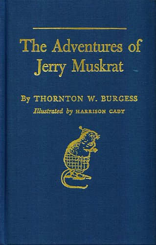 9780884117827: The Adventures of Jerry Muskrat (Bedtime Story-Books)