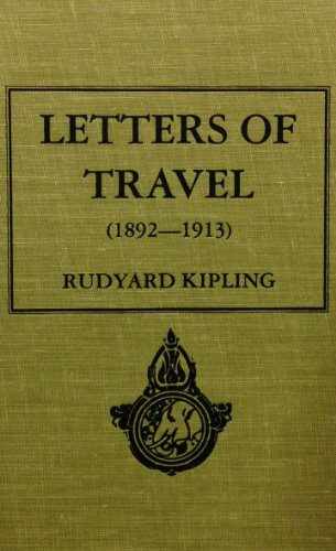 9780884118206: Letters of Travel 1892-1913