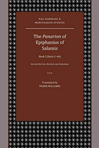 9780884141303: The Panarion of Epiphanius of Salamis: Book I (Sects 146) (Nag Hammadi and Manichaean Studies)