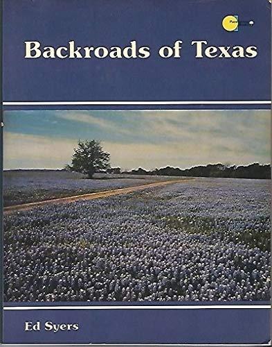 9780884150534: Backroads of Texas