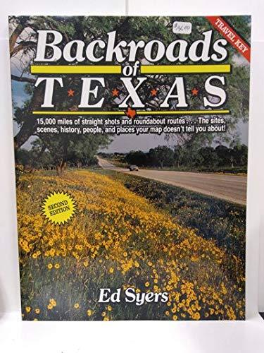 9780884150657: Backroads of Texas