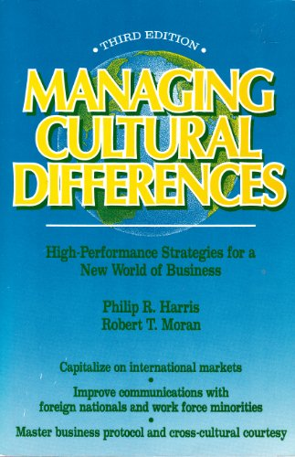 9780884150787: Managing Cultural Differences