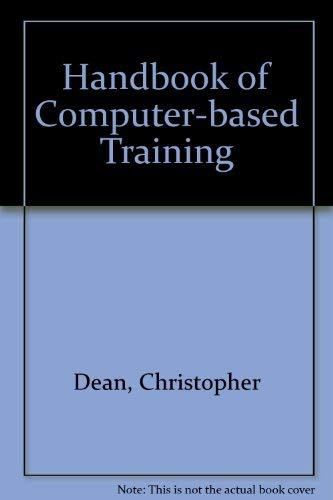 9780884150886: A Handbook of Computer-Based Training