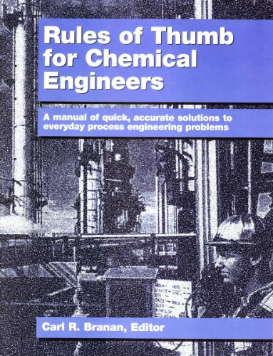9780884151623: Rules of Thumb for Chemical Engineers