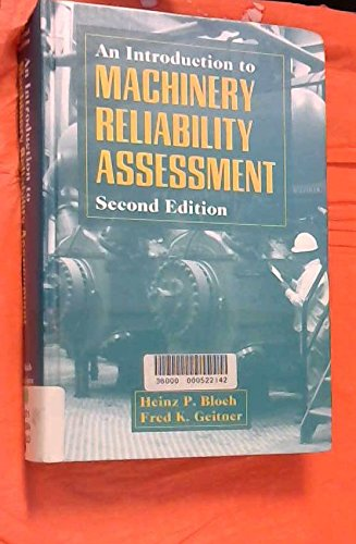 9780884151722: An Introduction to Machinery Reliability Assessment