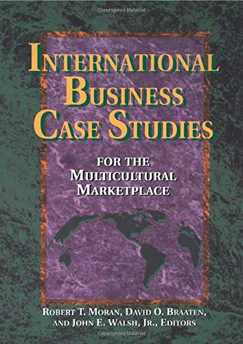 9780884151937: International Business Case Studies For the Multicultural Marketplace (Managing Cultural Differences)