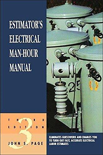 9780884152286: Estimator's Electrical Man-Hour Manual (Estimator's Man-Hour Library)