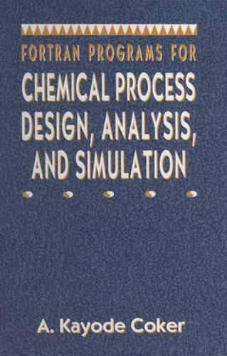 9780884152804: Fortran Programs for Chemical Process Design, Analysis, and Simulation