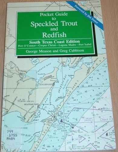 9780884156390: Pocket Guide for Speckled Trout and Redfish South Texas Coast Edition