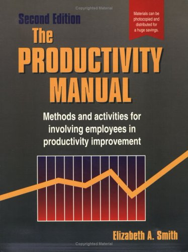 Productivity Manual (0884156524) by Smith  Ph.D., Elizabeth A.