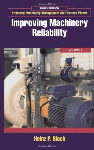 9780884156611: Improving Machinery Reliability: 1