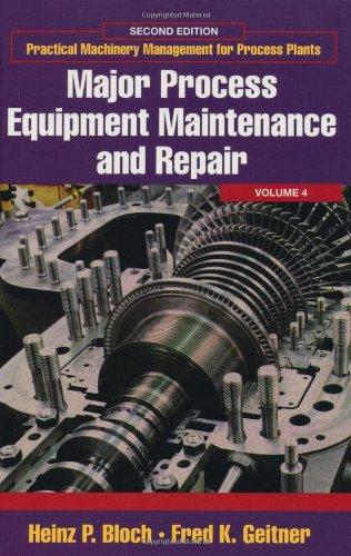 9780884156635: Major Process Equipment Maintenance and Repair