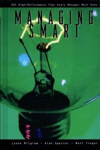 9780884157526: Managing Smart (Street Smart Series)