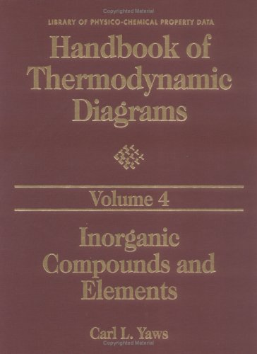 9780884158608: Handbook of Thermodynamic Diagrams, Volume 4: Inorganic Compounds and Elements (Handbook of Thermodymanic Diagrams)
