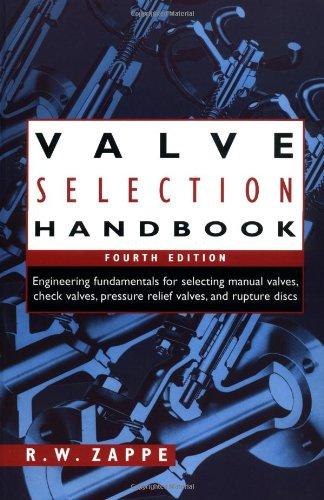 9780884158868: Valve Selection Handbook, Fourth Edition