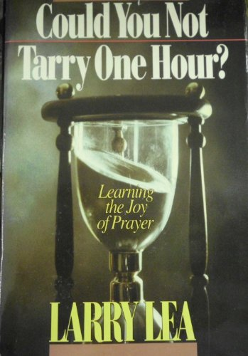 9780884191988: Could You Not Tarry One Hour?: Prayer Diary