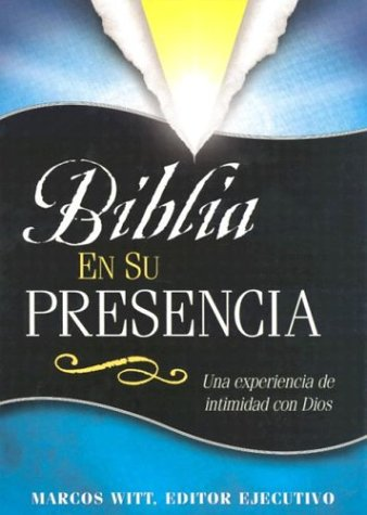 9780884196211: Biblia En Su Presencia-Leather (Spanish Edition)