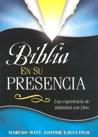 9780884196211: Biblia En Su Presencia-Leather (Spanish Edition)