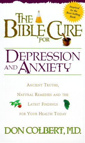9780884196501: Bible Cure For Depression/Anxiety (New Bible Cure (Siloam))