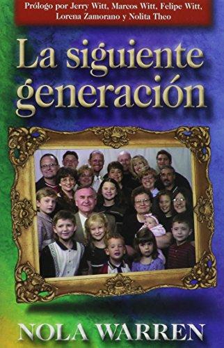 9780884197096: La Siguiente Generacion (Spanish Edition)