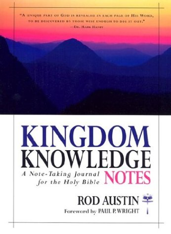 9780884199748: Kingdom Knowledge Notes: A Note-Taking Journal for the Holy Bible