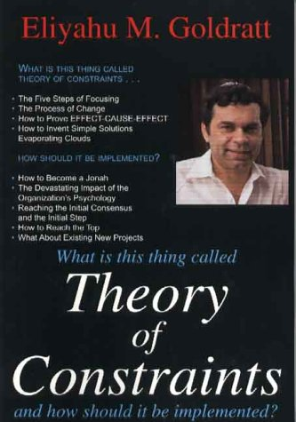 9780884271666: Theory of Constraints: And How It Should Be Implemented