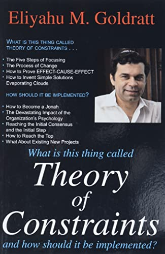 9780884271666: Theory of Constraints