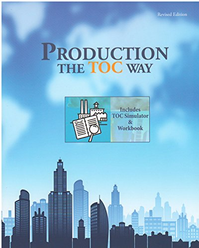 9780884271758: Production the TOC Way with Simulator