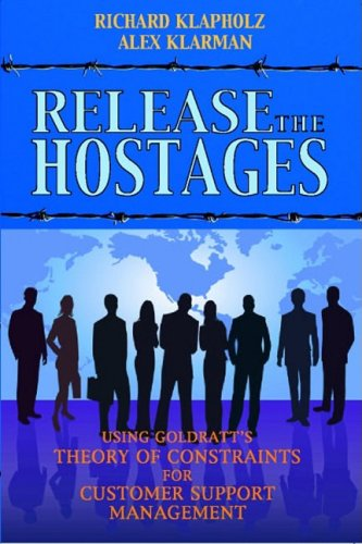9780884271901: Release the Hostages: Using Goldratt's Theory of Constraints for Customer Support Management
