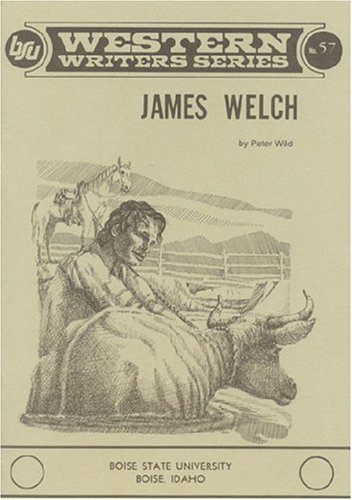 9780884300311: James Welch (Boise State University Western Writers Series)