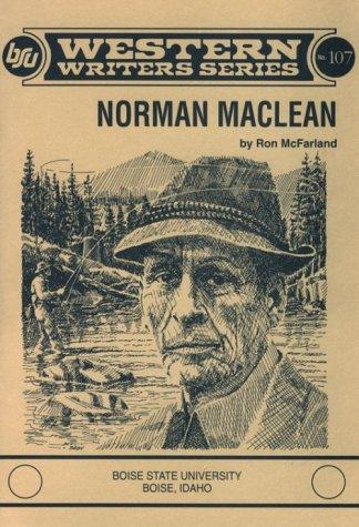 9780884301066: Norman MacLean (Western Writers)