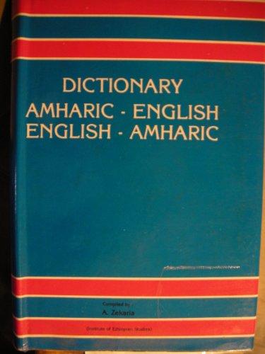 9780884310709: Amharic-English/English-Amharic Dictionary