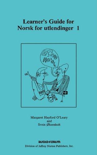 9780884321286: Learner's Guide for Norsk for Utlendinger 1