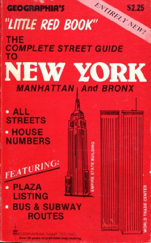 9780884330011: Little Red Book: The Complete Street Guide to New York