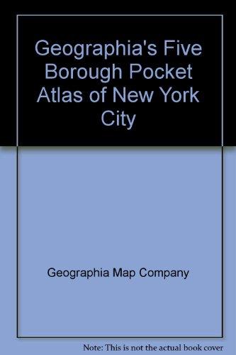 9780884330134: Geographia's five borough pocket atlas of New York City
