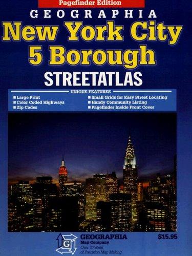 9780884333180: Atlas 5-boroughs New York City, New York