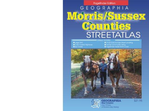 Morris/Sussex Cos, NJ Atlas: Geographia