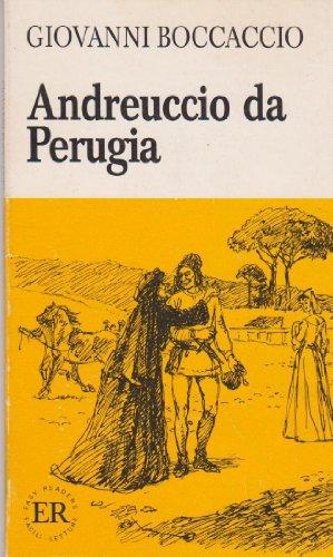 Andreuccio Da Perugia (Italian Easy Readers, Series A): Boccaccio