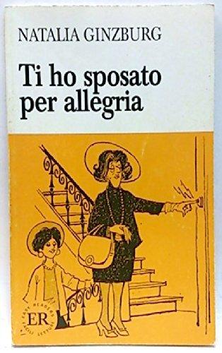 9780884362289: TI Ho Sposato Per Allegria
