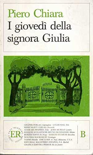 9780884362920: I Giovedi Della Signora Giulia