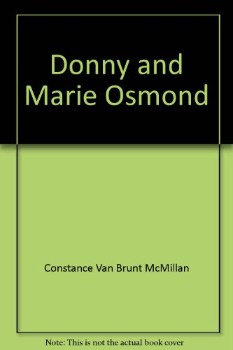 9780884364085: Donny and Marie Osmond: Breaking all the rules (Superstars: so young, so far)