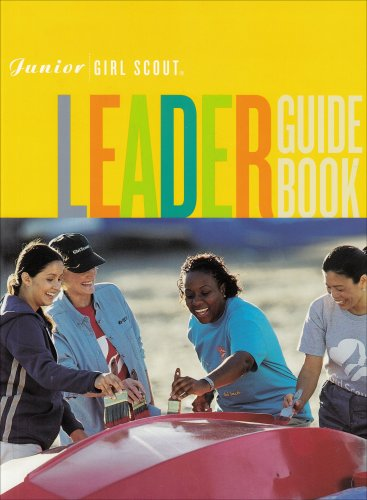 9780884416227: Junior Girl Scout Leader Guide Book
